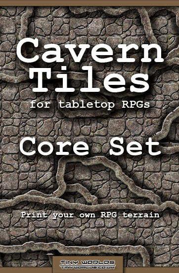 cavern tiles core set rpg game tiles tiny worlds