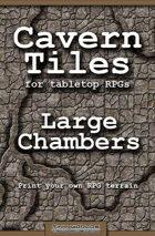 Cavern Tiles - Large Chambers - RPG Game Tiles