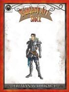 Human Warrior I - Fantasy Art