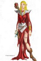 Elf Wizard I - Fantasy Art