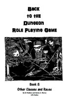 Back to the Dungeon Book 5 Other races and Classes