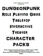 DUNGEONPUNK RPG Character Packs