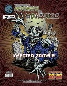 Manual of Mutants & Monsters Infected Zombie