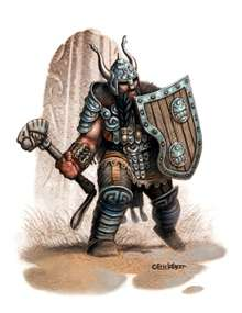 Eric Lofgren Presents Dwarf Warrior