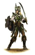 Eric Lofgren Presents: Female Elf Fighter