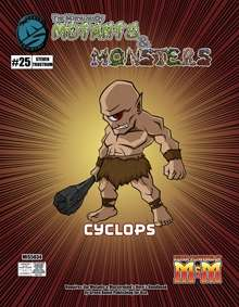 Manual of Mutants & Monsters Cyclops