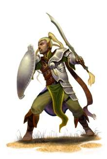 Eric Lofgren Presents Male Elf Fighter