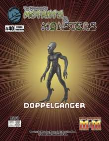 Manual of Mutants & Monsters Doppelganger