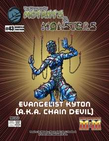 Manual of Mutants & Monsters Evangelist Kyton