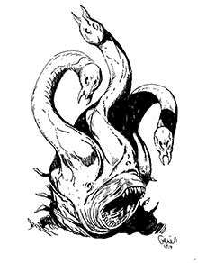 Earl Geier Presents Alien Tentacle Monster
