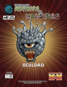 Manual of Mutants & Monsters Oculord