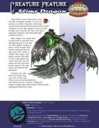 Creature Feature: Slime Dragon