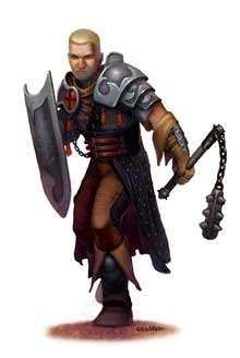Eric Lofgren Presents Male Cleric