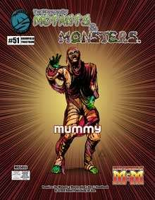 Manual of Mutants & Monsters Mummy