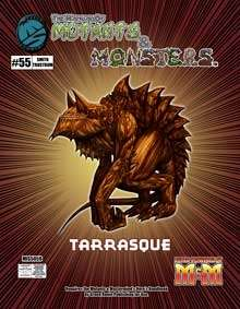 Manual of Mutants & Monsters Tarrasque