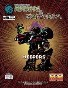 Manual of Mutants & Monsters Keepers