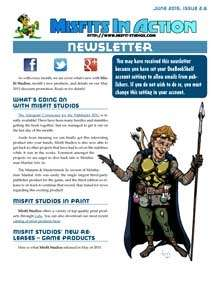 Misfit Studios June 2015 Monthly Newsletter
