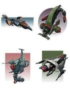 Eric Lofgren Spacefighter Fleet [BUNDLE]