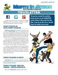 Misfit Studios July 2015 Monthly Newsletter