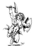 Earl Geier Presents: Female Brute Warrior