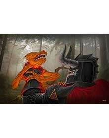 Scott Harshbarger Presents Knight Interrogates Kobold