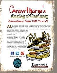 Crawthorne's Catalog of Creatures Abroa