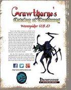 Crawthorne's Catalog of Creatures: Werespider