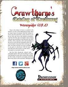 Crawthorne's Catalog of Creatures Werespider