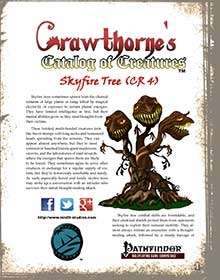 Crawthorne's Catalog of Creatures Skyfire Tree
