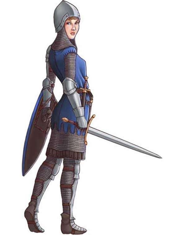 Brett Neufeld Presents Female Knight
