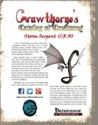 Crawthorne's Catalog of Creatures: Storm Serpent