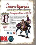 Crawthorne's Catalog of Creatures: Demagogue Demon a.k.a. Tr'ump