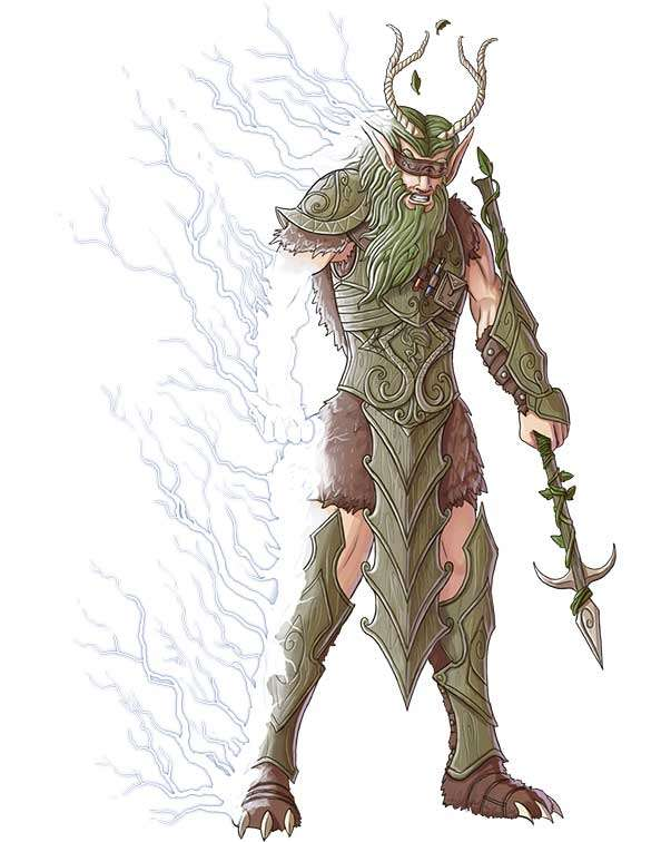 Brett Neufeld Presents Electric Elf Ranger Druid