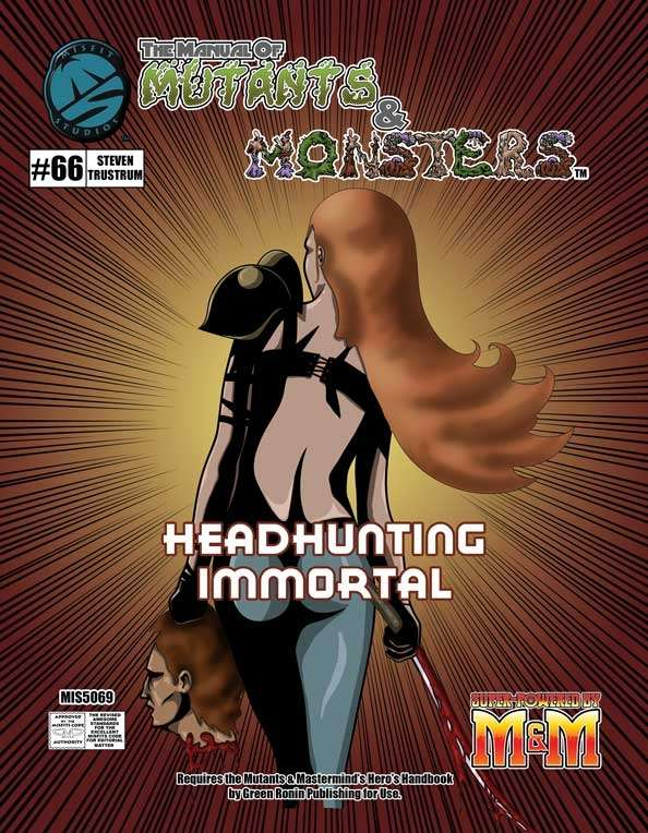 Manual of Mutants & Monsters Headhunting Immortals