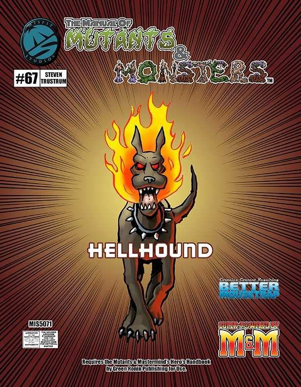Manual of Mutants & Monsters Hellhound