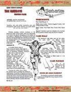 OGL Barbarian Hawkeye (Sampler)