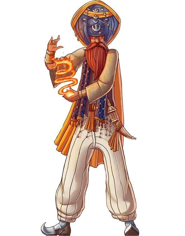 Brett Neufeld Presents Fire Sorcerer