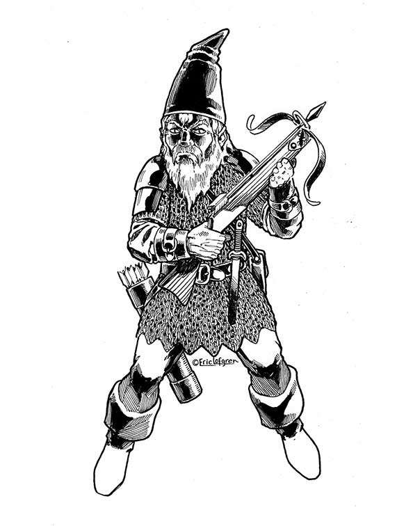 Eric Lofgren Presents Crossbow Gnome