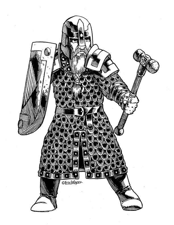 Eric Lofgren Dwarf Stalwart