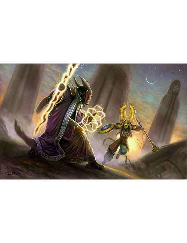 Eric Lofgren Presents Deva vs. Tiefling
