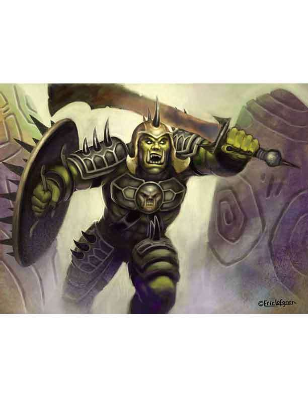 Eric Lofgren Presents Orc Warlord