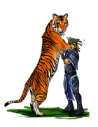 Christina Stiles Presents: Tiger Hairball by Jacob Blackmon