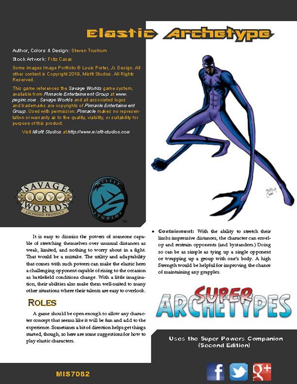 Super Archetypes: Elastic