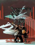 Scott Harshbarger Presents: Techno-Knight vs Robot