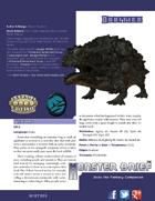 Monster Brief: Oddities