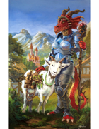 Matsya Das Presents: Dragonborn with Goat Companion