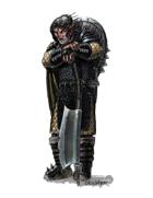 Eric Lofgren Presents: Half-Orc Axeman