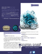 Monster Brief: Oozes