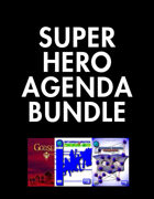 Super Hero Agenda [BUNDLE]