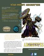 Fantasy Archetypes: War Priest